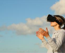 VR social networking TRON TRX