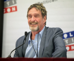 John McAfee US elections 2020
