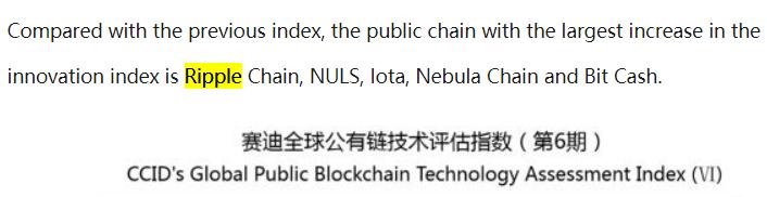 CCID China Ripple Innovation