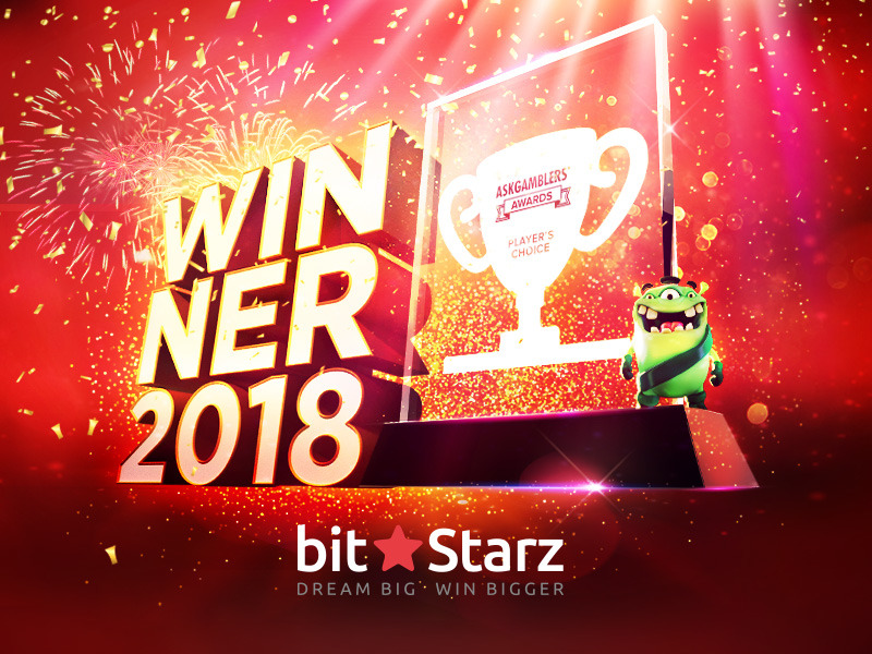 BitStarz Named Players' Choice Casino at AskGamblers Awards!