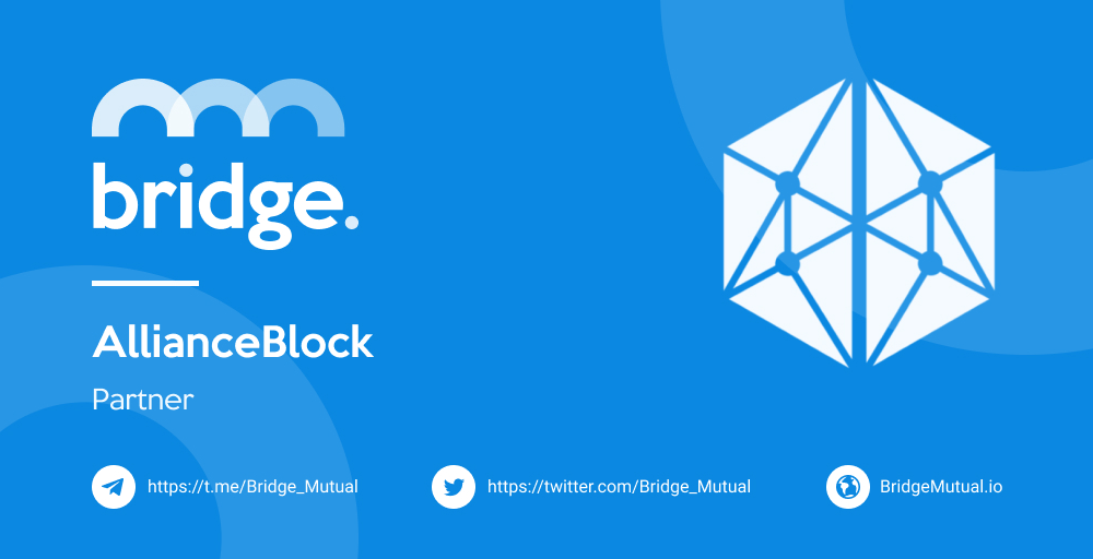 Partnership Between Bridge Mutual & AllianceBlock Announced - Global Coin Report
